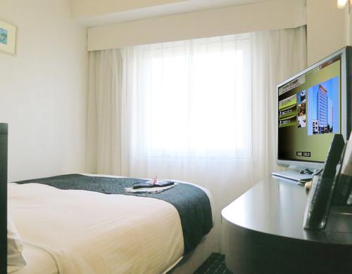 アパホテルの客室一例