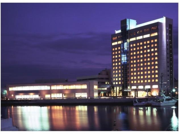 徳島グランヴィリオホテルの外観
