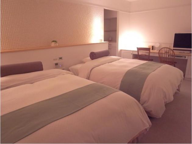 ケーオーホテルの客室一例