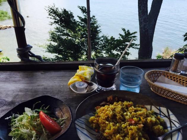 近江八幡市 シャーレ水ヶ浜 料理