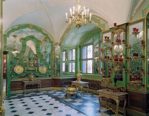 緑の丸天井