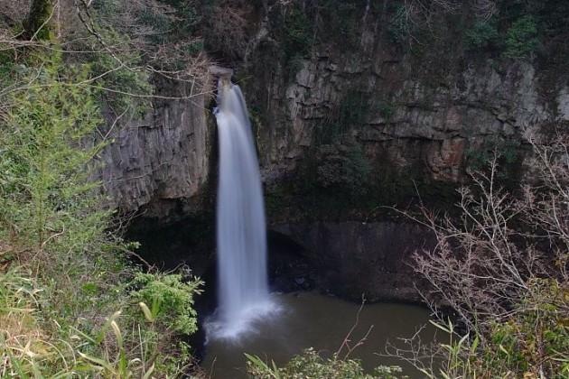下城滝風景