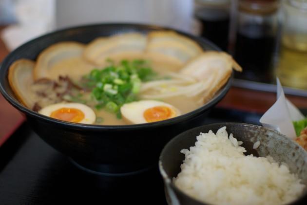近江八幡市 百饅馬力 料理