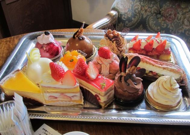 近江八幡市 クラブハリエ ケーキ
