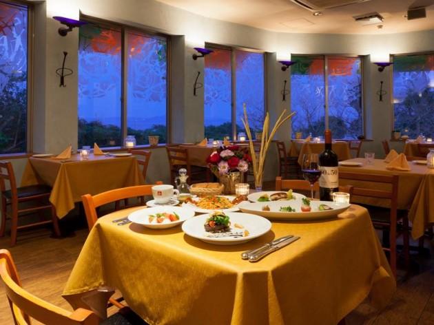 リゾートホテル モアナコーストのレストラン一例