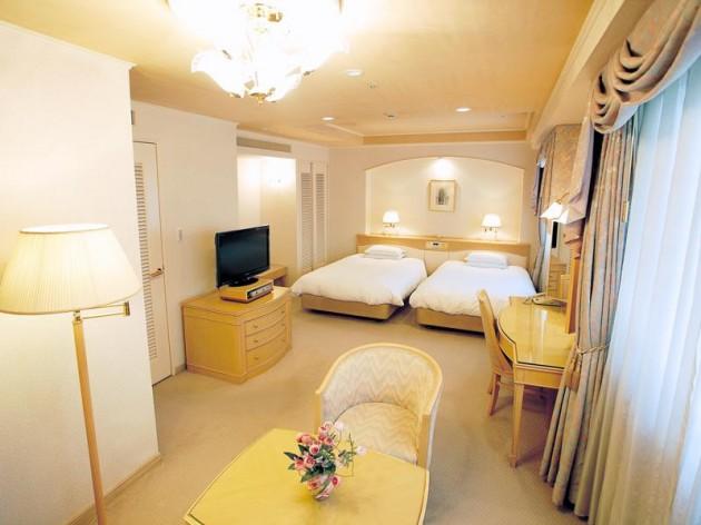 ザ クラウンパレス新阪急高知の客室一例