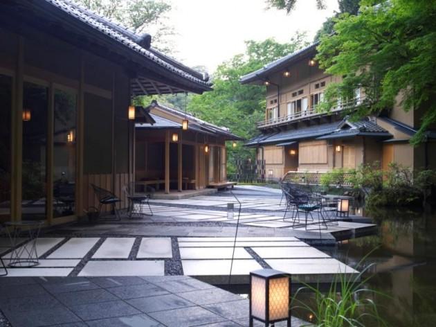 星のや京都の外観
