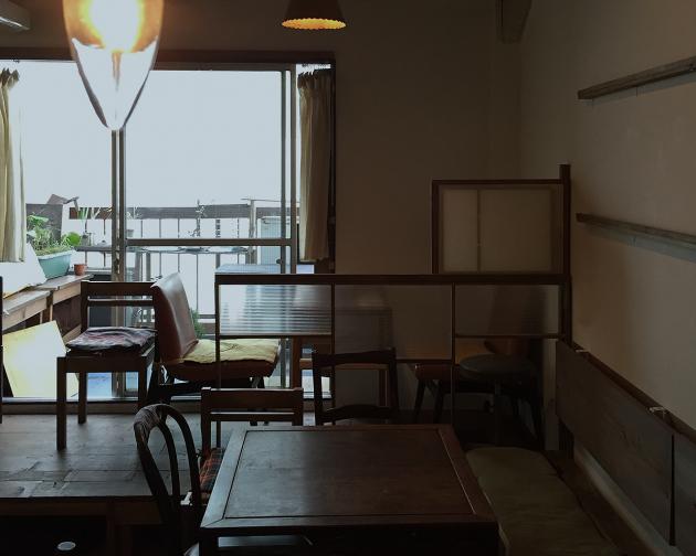 クワランカカフェの内観