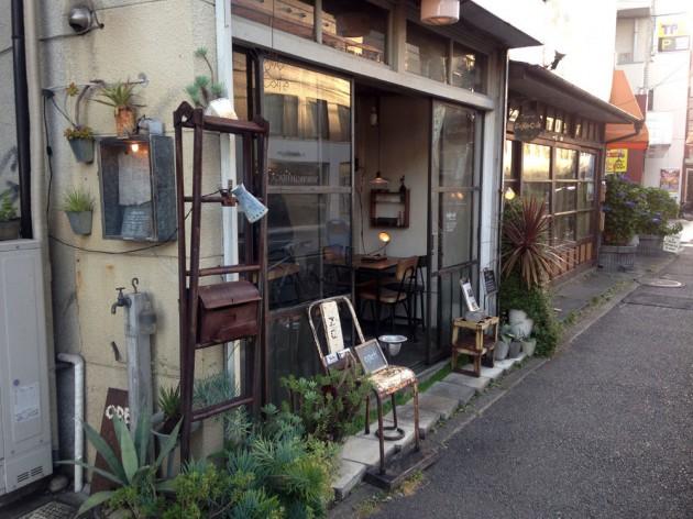 sajiro cafeの外観