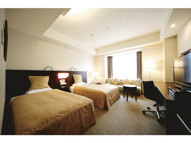 米子全日空ホテルの客室一例