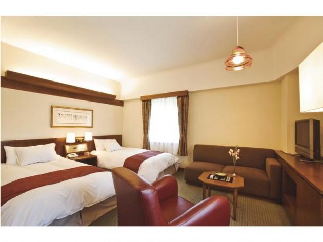 倉敷国際ホテルの客室一例