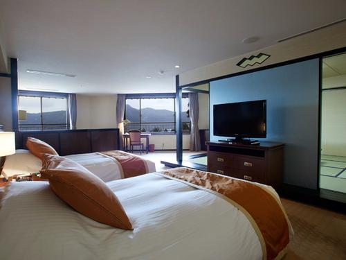 小田急 山のホテルの客室一例