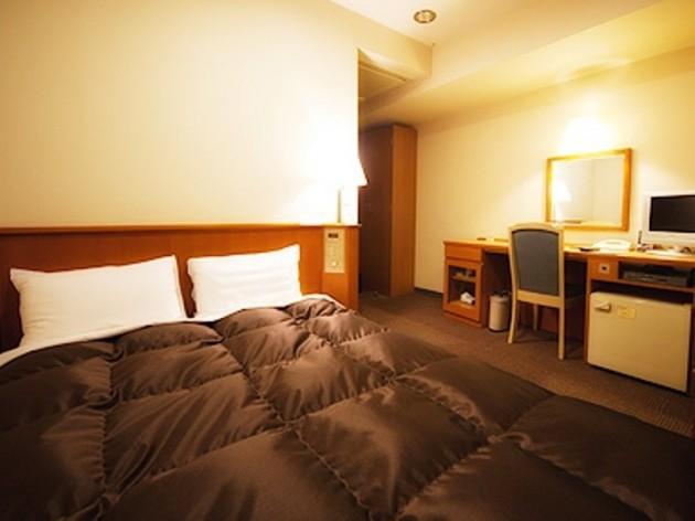 厚木アーバンホテルの客室一例