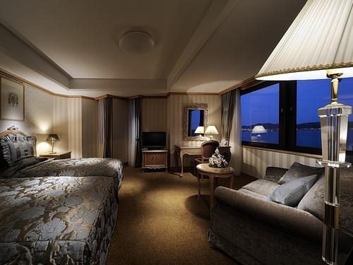 鎌倉パークホテルの客室一例
