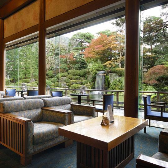 水明館 日本庭園