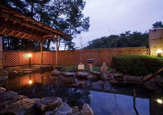 ホテル作州武蔵 露天風呂