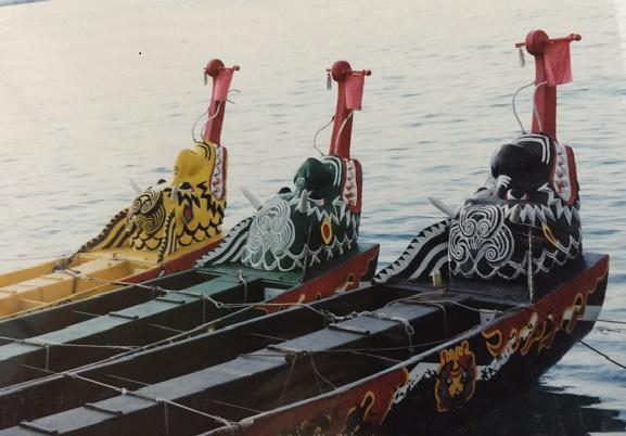 momokaiハーリー船