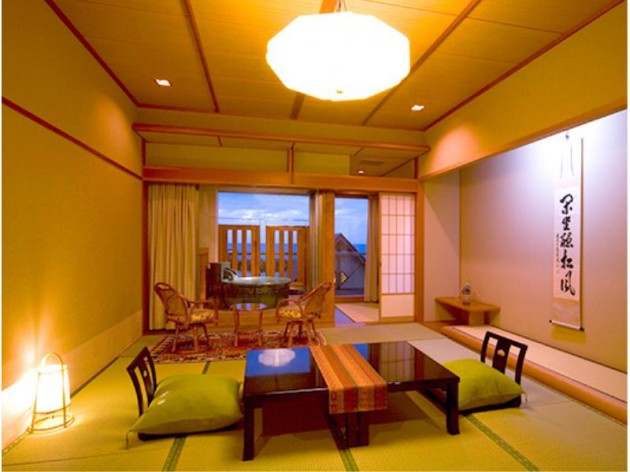 海色・湯の宿 松月の客室一例