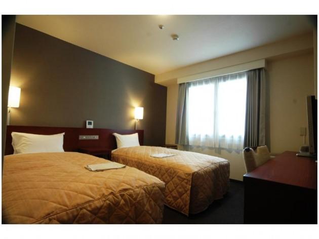 HOTEL RESH鳥取駅前の客室一例