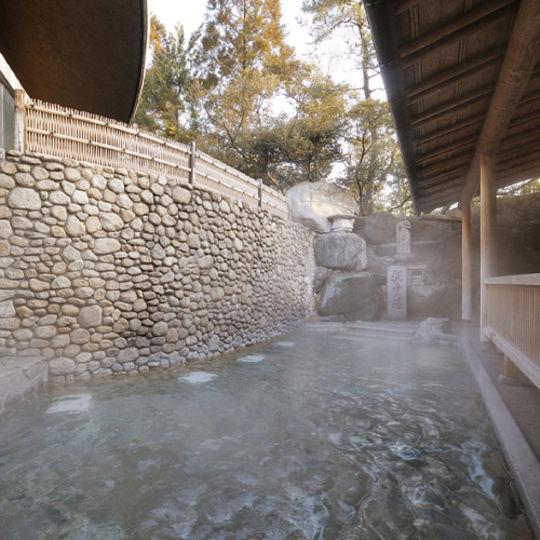 水明館 風呂