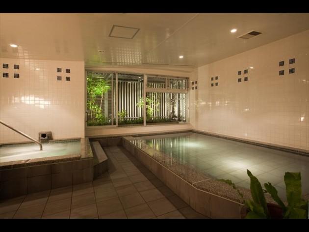 鳥取グリーンホテルモーリスの大浴場