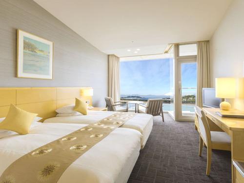 鎌倉プリンスホテルの客室一例