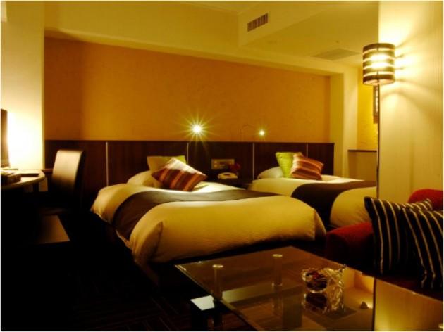 セントラルホテルの客室一例