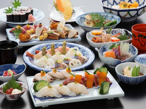 ガーデンテラス長崎ホテル&リゾートの料理一例