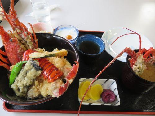 樫野釣公園レストラン 伊勢海老丼