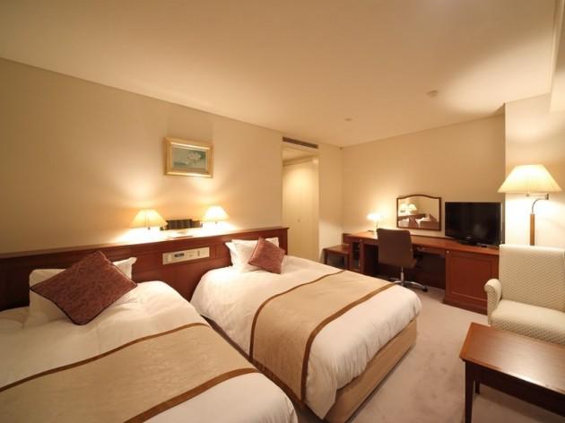 ホテルハーベストイン米子の客室一例