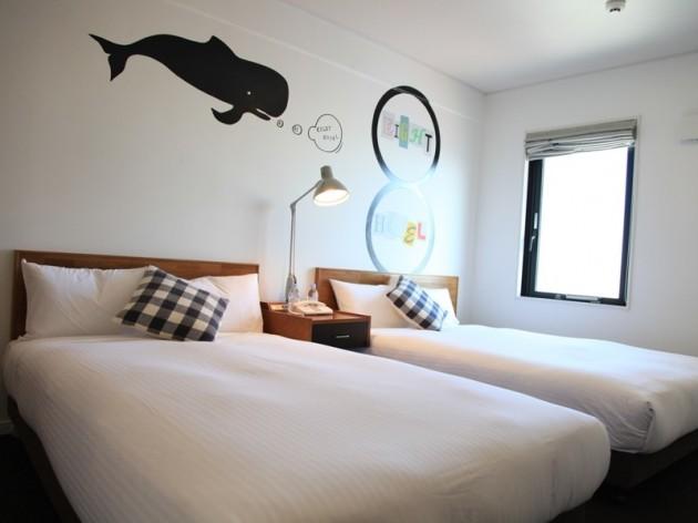 8hotel湘南藤沢の客室一例