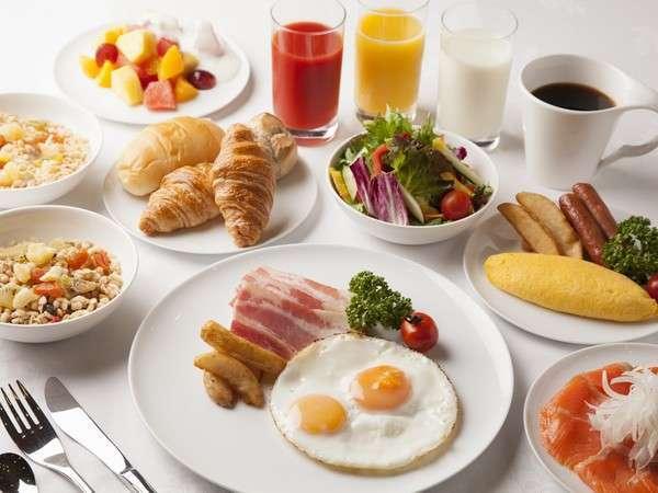 ダブルツリー朝食