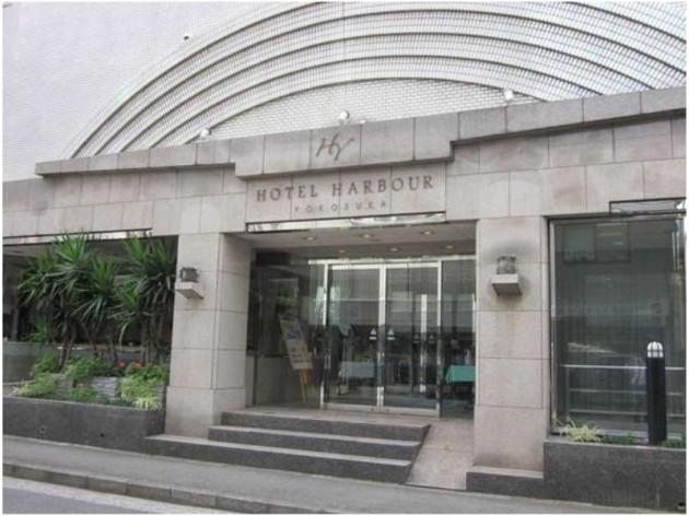 ホテルハーバー横須賀の外観