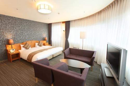 後楽ホテルの客室一例