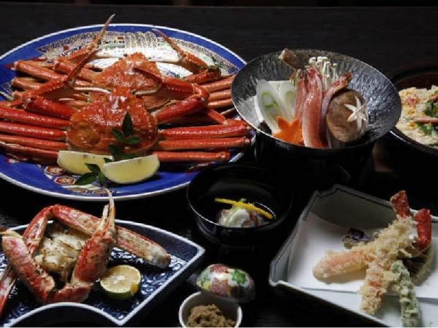 米子全日空ホテルの料理一例