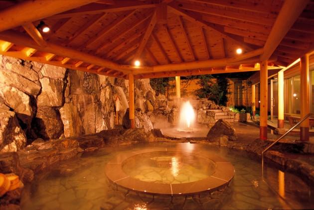 湯郷鷺温泉館 お風呂