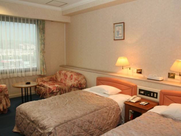 屋久島シーサイドホテル客室