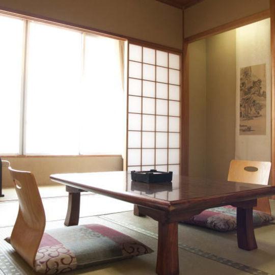 横須賀旅館の客室一例