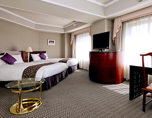 倉敷ロイヤルアートホテルの客室一例