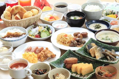 リッチモンドホテル宮崎駅前の朝食一例