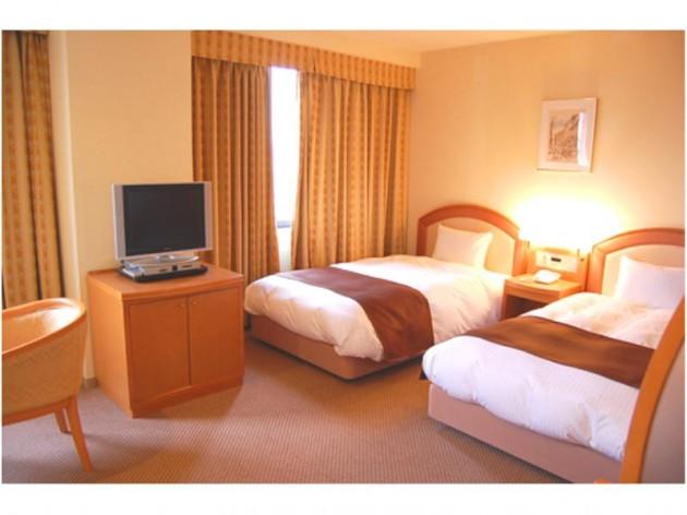 出雲ロイヤルホテルの客室一例