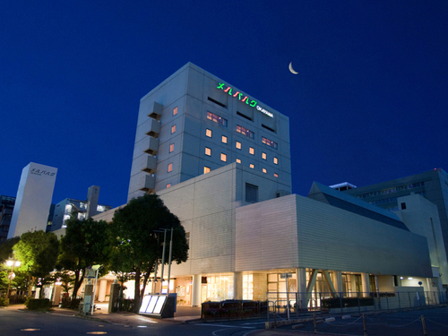ホテル メルパルク岡山の外観
