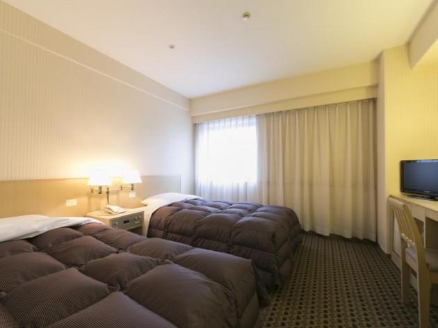 米子ワシントンホテルプラザの客室一例