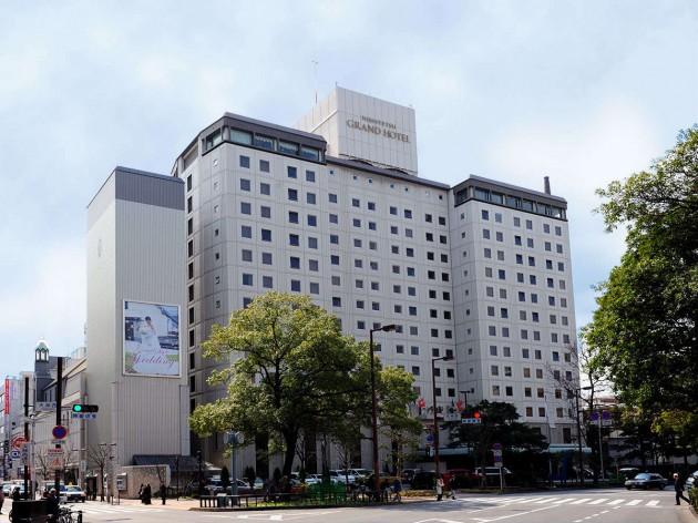 西鉄グランドホテルの外観