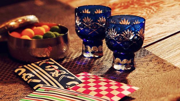 江戸文化の切子