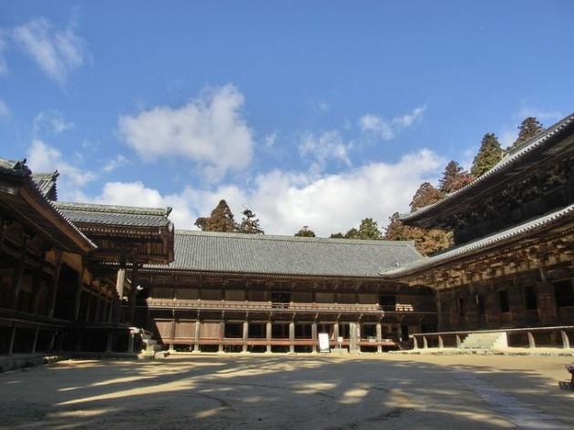 書写山円教寺 三つの堂