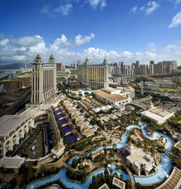 Grand Resort Deck - View from The Ritz-Carlton Macau Panorama
