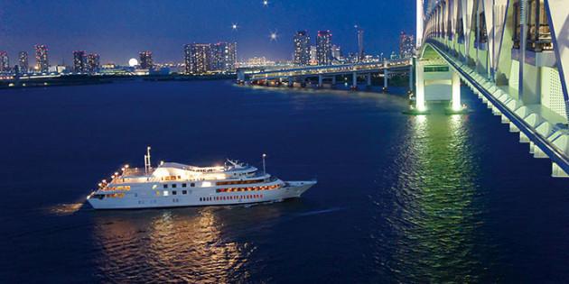 クリスマス限定イベント「深夜の東京湾夜景クルーズ」おすすめ3選
