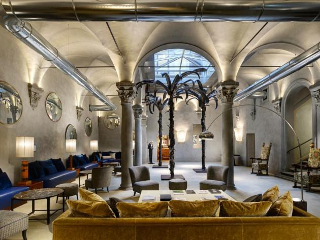 抜群のロケーションに位置するフィレンツェのブティックホテル「ガリバルディ・ブル」