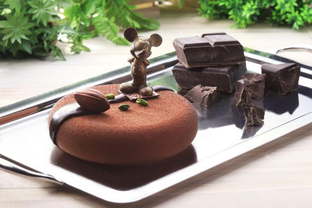 DEL Yuzu & Chocolate Mousse Cake